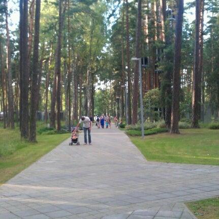 Photo taken at Dzintaru mežaparks by Aivars S. on 8/5/2012