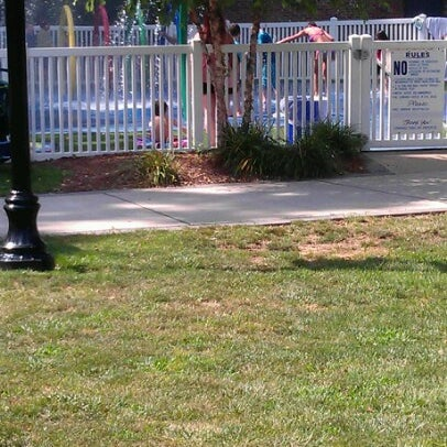 Photo taken at Lyndhurst Town Hall Park by Ken G. on 7/22/2012