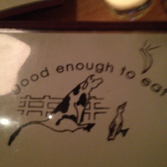 Photo taken at Good Enough to Eat by Rachel M. on 4/11/2012