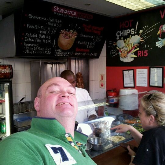 Photo taken at Shawarma Express by James C. on 3/17/2012