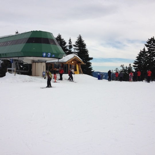 Photo taken at Cypress Mountain Ski Area by Alma S. on 2/5/2012