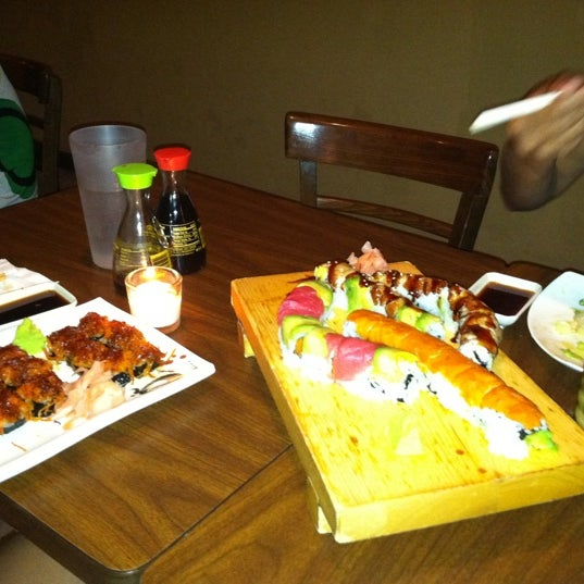 Photo taken at Cherin Sushi by Patti C. on 7/20/2011