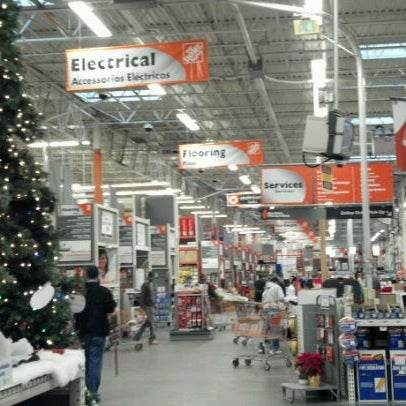 Photo Taken At The Home Depot By Celeste Z On 12 7 2011