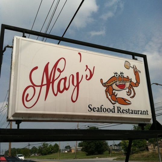 Photo taken at May's Crab & Seafood by G B. on 9/4/2011