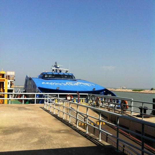 Photo taken at Taipa Ferry Terminal by Belinda K. on 11/12/2011