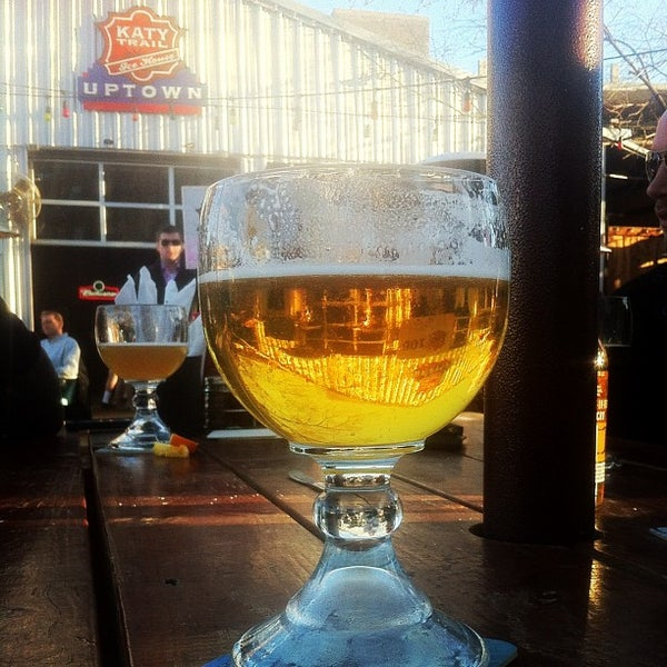 Photo taken at Katy Trail Ice House by Ryan P. on 1/27/2012