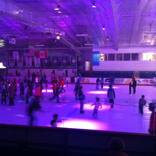 Photo taken at San Diego Ice Arena by Sarah V. on 11/5/2011
