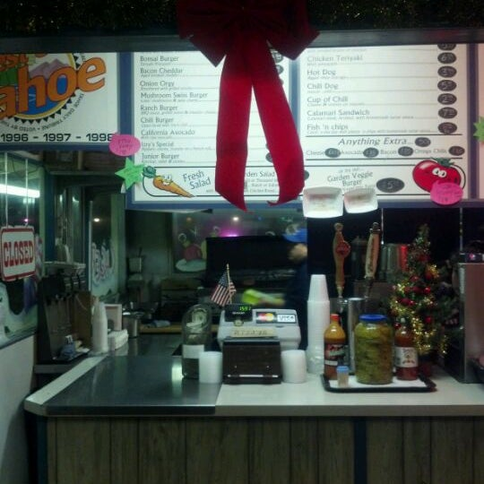 Photo taken at Izzy's Burger Spa by Jeff on 12/23/2011
