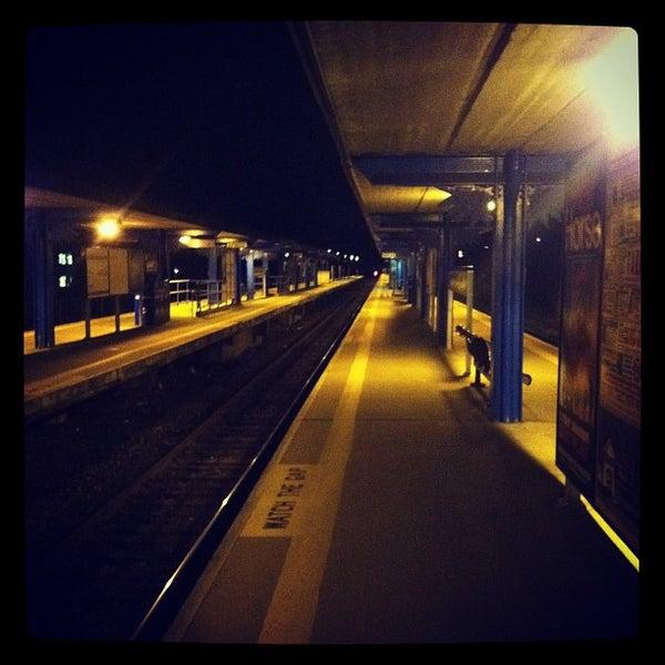 Photo taken at Metro North - North White Plains Station by Naochib on 2/21/2012