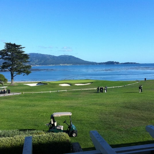 Photo taken at The Lodge at Pebble Beach by Ellie H. on 5/31/2011