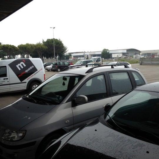 Photo taken at Parcheggio Via Sassonia by Namer M. on 5/23/2012