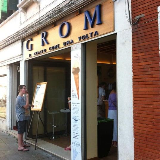 Photo taken at Grom by Alex P. on 7/11/2012