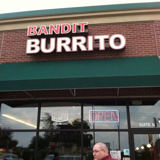 Photo taken at Bandit Burrito by Kate J. on 7/15/2011