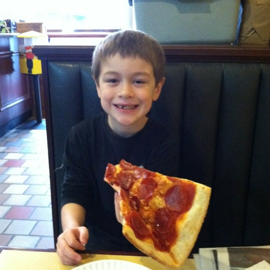 Photo taken at Burke Street Pizza by Danthe D. on 1/21/2012
