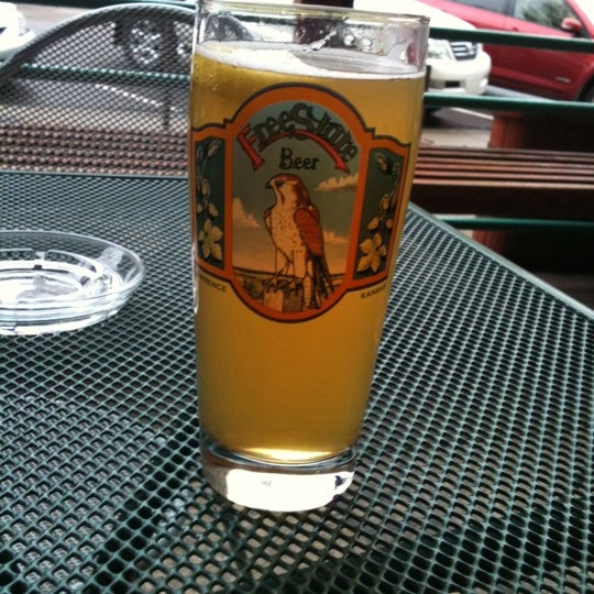 Photo taken at Free State Brewing Company by Xteeny on 4/15/2011