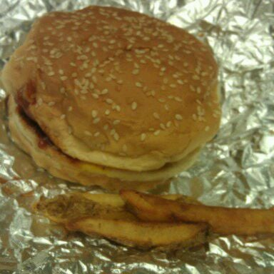 Photo taken at Five Guys by Olivia K. on 11/17/2011