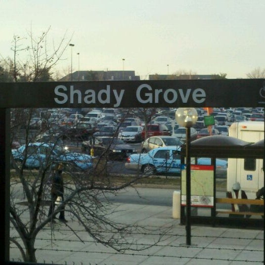 Shady grove metro station shady grove rockville md for Shady grove