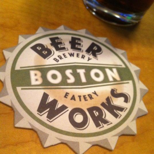 Photo taken at Boston Beer Works by Mazen G. on 6/21/2012