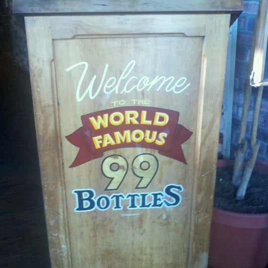 Photo taken at 99 Bottles of Beer on the Wall by Richard D. on 8/25/2011