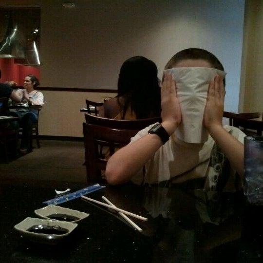 Photo taken at Wasabi Steakhouse & Sushi Bar by shari s. on 8/14/2011