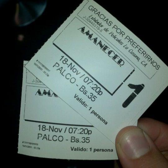 Foto tomada en Cine Movie Planet por Rafael M. el 11/18/2011