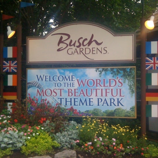 Photo taken at Busch Gardens Williamsburg by Andrea B. on 7/1/2012