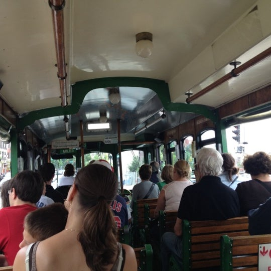Photo taken at Old Town Trolley Tours of Boston by Denise S. on 5/30/2012