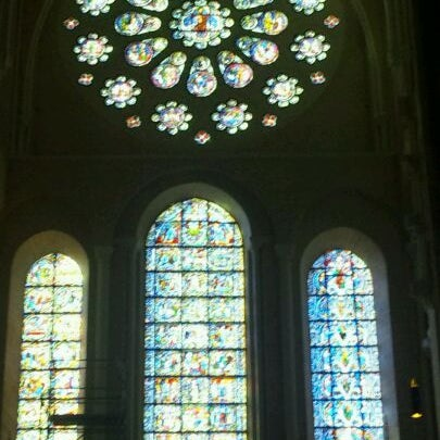 Photo taken at Cathedral Basilica of Our Lady by Mahbou on 1/2/2012