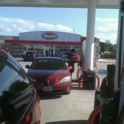 Photo taken at Kum & Go by John S. on 7/29/2012