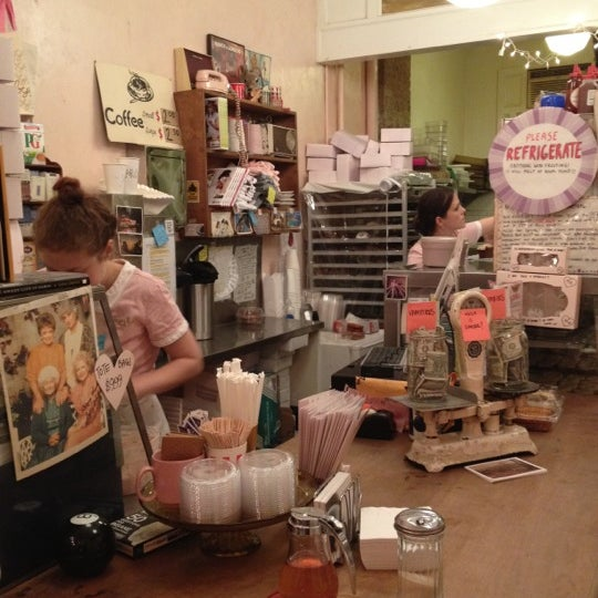 Photo taken at Erin McKenna's Bakery by Jackie D. on 10/27/2011