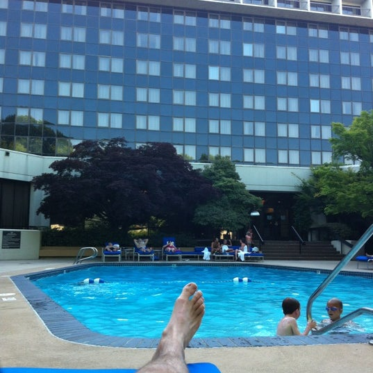Photo taken at DoubleTree by Hilton Hotel Portland by Adam S. on 7/9/2012