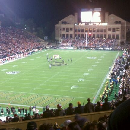 Photo taken at Folsom Field by Bluto H. on 11/5/2011