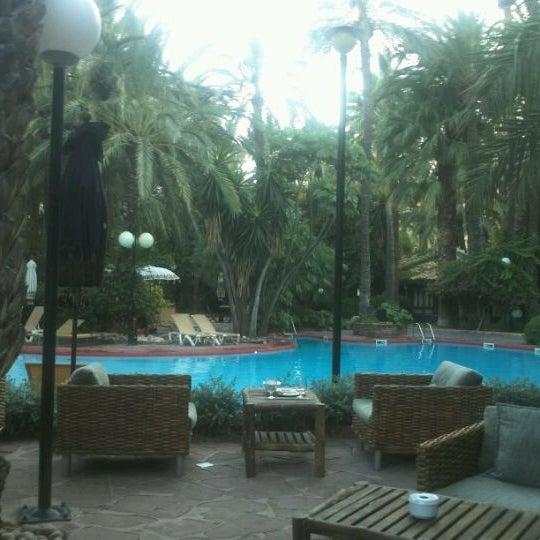 Foto tomada en Hotel Huerto del Cura por Rafa A. el 8/18/2011