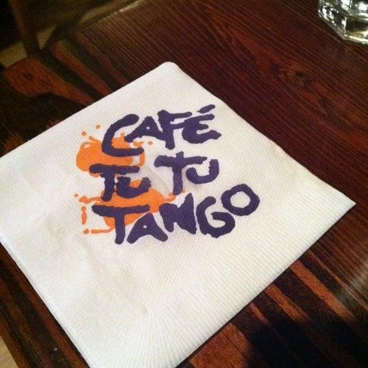 Photo taken at Café Tu Tu Tango by Mike B. on 2/14/2012