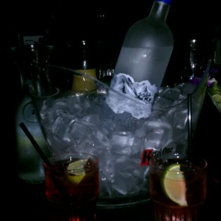 Photo taken at Blue Martini Brickell by Eden on 10/6/2011