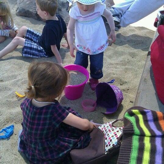 Photo taken at Burton Park by Lisa C. on 6/27/2011