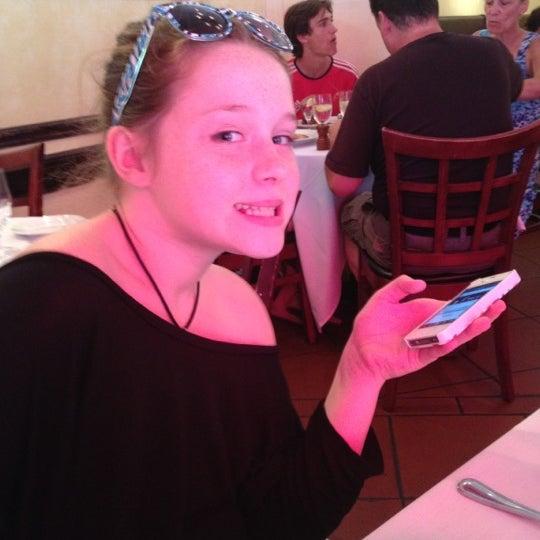 Photo taken at Luce Restaurant & Enoteca by Juliana S. on 6/30/2012