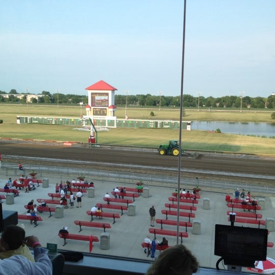 Photo taken at Prairie Meadows by Ian W. on 6/30/2012