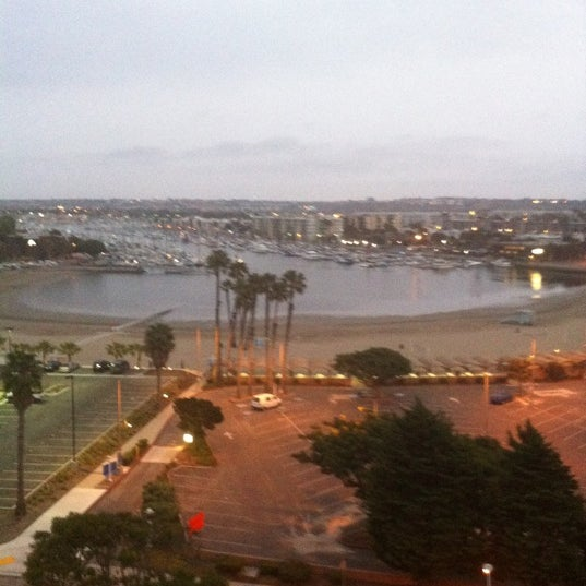 Photo taken at Marina Del Rey Marriott by Bruce M. on 6/9/2011
