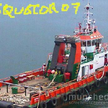 Photo taken at Pelabuhan speedboat kampung baru by Bintang K. on 2/1/2012