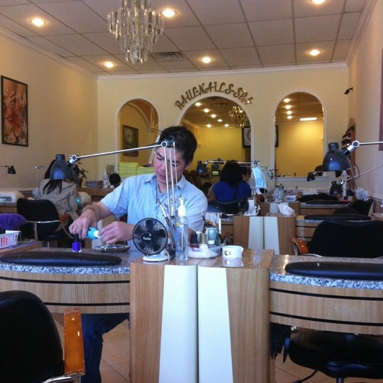 Photo taken at Paul Nails Spa by Taliah W. on 4/29/2012