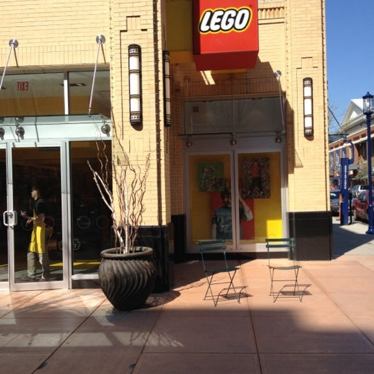 Photo taken at The LEGO Store by Bradley W. on 3/21/2012
