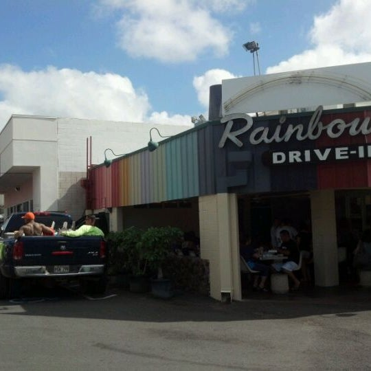 Photo taken at Rainbow Drive-in by David H. on 12/26/2011