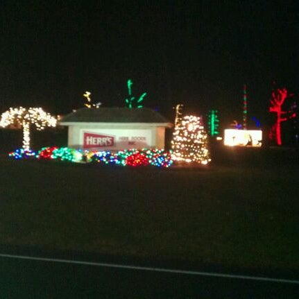 photo taken at herrs christmas light display by melinda s on