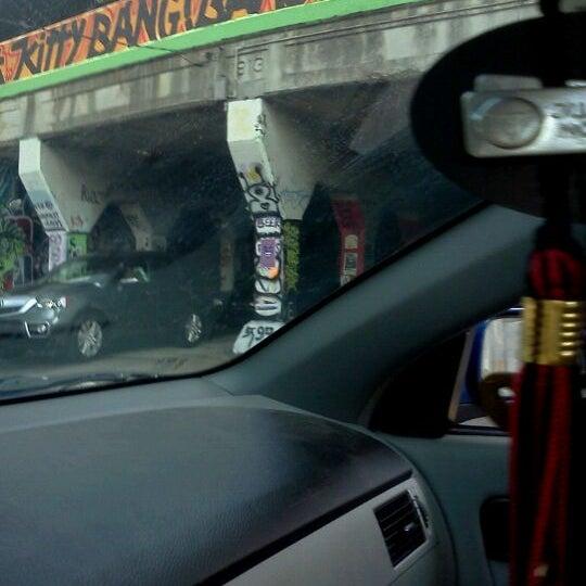Photo taken at Krog Street Tunnel by Naomi G. on 9/2/2011