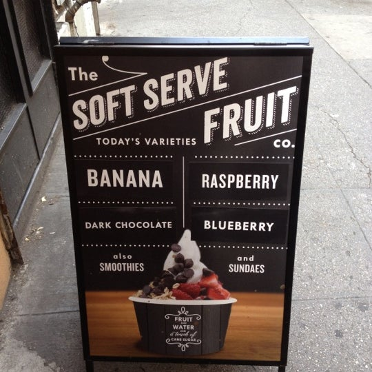 Photo taken at Chloe's Soft Serve Fruit Co. by K@rTh!kk R. on 7/4/2012