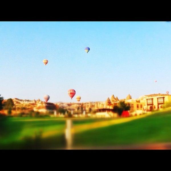 8/13/2012 tarihinde Merih A.ziyaretçi tarafından Tourist Hotels & Resorts Cappadocia'de çekilen fotoğraf