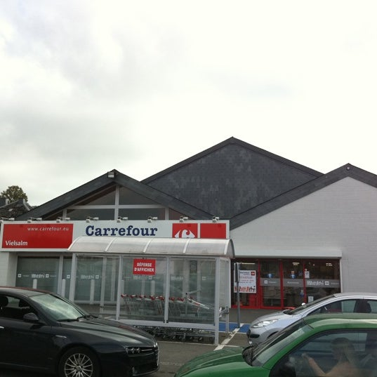 carrefour market grocery store in vielsalm. Black Bedroom Furniture Sets. Home Design Ideas
