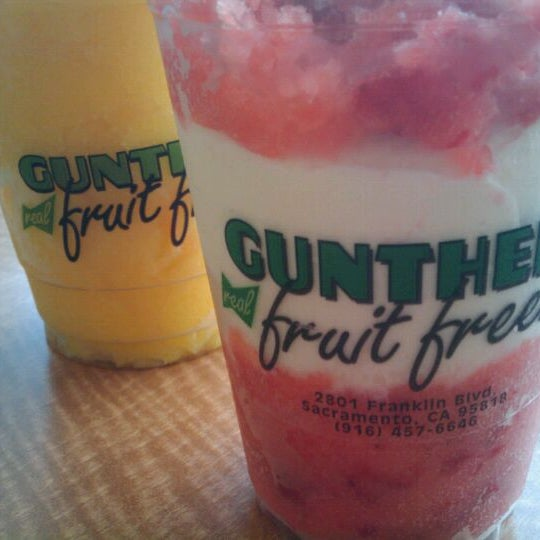 Photo taken at Gunther's Quality Ice Cream by Kino V. on 2/28/2012