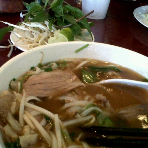Photo taken at Pho Bac by LV S. on 7/15/2012